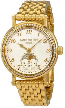 Patek Philippe Complications Silvery-White Dial Ladies Hand Wound Watch