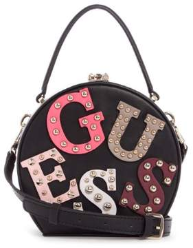 GUESS Lizzy Logo Round Mini Satchel