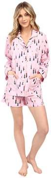 BedHead Long Sleeve Shorty Bottom Pajama Set