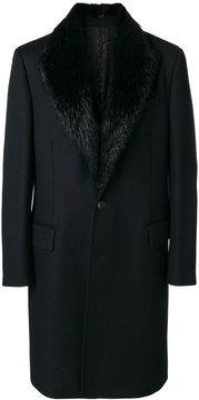 Roberto Cavalli large collared coat
