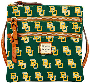Dooney & Bourke Baylor Bears Triple-Zip Crossbody Bag - GREEN - STYLE