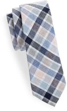 Joe's Jeans Collection Men's Plaid Slim Cotton Tie