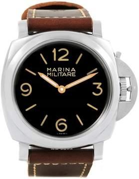 Panerai Luminor Marina PAM00673 Stainless Steel & Leather 47mm Mens Watch