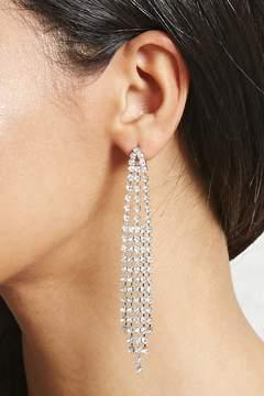 Forever 21 Rhinestone Chandelier Earrings