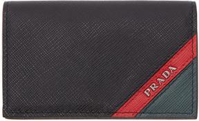 Prada Black Multi Compartment Wallet
