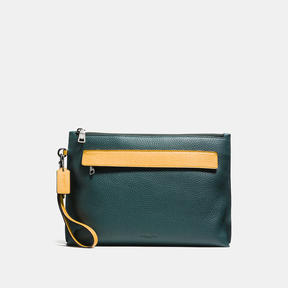 Coach Pouch In Colorblock