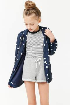 Forever 21 Girls French Terry Drawstring Shorts (Kids)