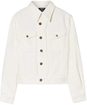 Calvin Klein Andy Warhol Foundation Printed Denim Jacket - White