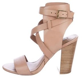 Rachel Zoe Leather Ankle Cuff Sandals