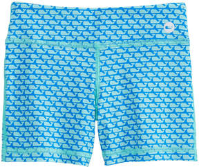 Vineyard Vines Girls All Over Whale Performance Tumble Shorts