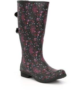 Chooka Versa Zuri Buckle Strap Tall Rain Boots
