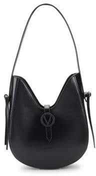 Mario Valentino Anny Leather Shoulder Bag