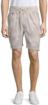 Publish Men's Deacon Printed Cotton Shorts