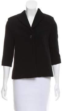 Barneys New York Barney's New York Structured Wool Jacket