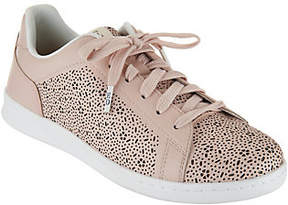 ED Ellen Degeneres Leather Lace-up Sneakers -Chaperf