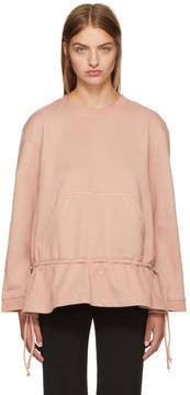 Cédric Charlier Pink Crewneck Sweatshirt