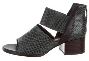 United Nude Embossed Cutout Sandals