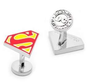 Cufflinks Inc. Cufflinks, Inc. DC Comics Superman Shield Enamel Cuff Links