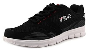 Fila Direction Round Toe Synthetic Running Shoe.