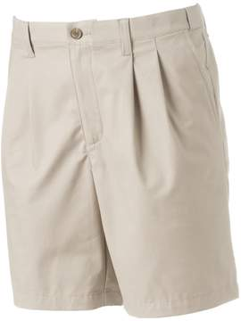 Croft & Barrow Men's True Comfort Classic-Fit Stretch Pleated Shorts