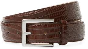 Saks Fifth Avenue Made in Italy Men's Textured Leather Belt