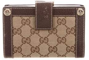 Gucci GG Canvas French Purse Wallet