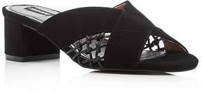 Jaggar Attain Block Heel Slide Sandals