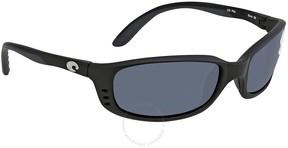 Costa del Mar Brine Grey Wrap Sunglasses BR 11 OGP