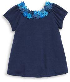 Isabel Garreton Baby's Felted Flower A-Line Dress