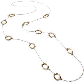 Amrita Singh Silvertone Mixed-Metal Aspen Station Necklace