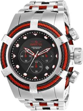 Invicta Bolt Chronograph Black Dial Men's Watch