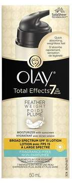 Olay Total Effects Featherweight Moisturizer with Sunscreen Broad Spectrum SPF 15 Fragrance-Free