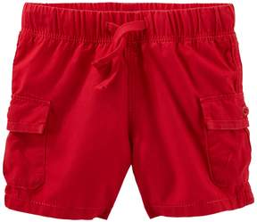 Osh Kosh Oshkosh Bgosh Baby Boy Red Cargo Shorts