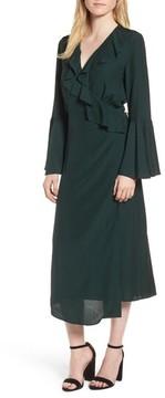 Chelsea28 Women's Midi Wrap Dress