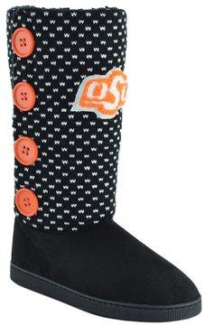 NCAA Women's Oklahoma State Cowboys Button Boots