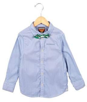 Scotch Shrunk Boys' Striped Button-Up Shirt w/ Tags