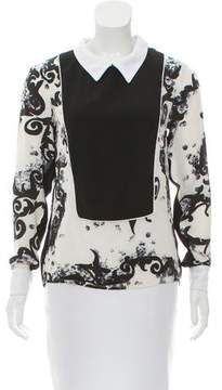 Timo Weiland Printed Long Sleeve Blouse