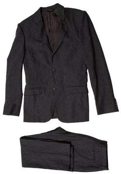 Calvin Klein Collection Wool & Cashmere-Blend Suit