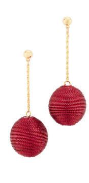 Kenneth Jay Lane Ball Drop Earrings