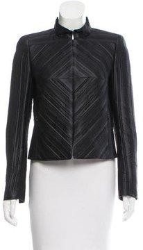 Akris Structured Striped Jacket w/ Tags