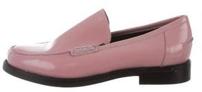 Rachel Comey Patent Leather Round-Toe Loafers