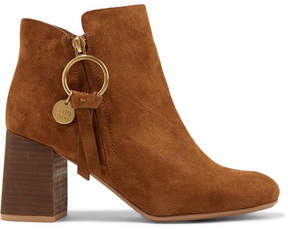 See by Chloe Suede Ankle Boots - Light brown