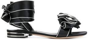 Casadei rosette detail sandals