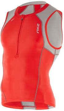 2XU Men's Compression Colorblocking Cycle Tri-Vest