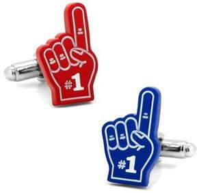 Cufflinks Inc. Men's Foam Finger Cuff Links