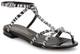 Marc Jacobs Ana Leather Studded Sandals