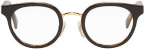 Super Black and Tortoiseshell Numero 22 Glasses