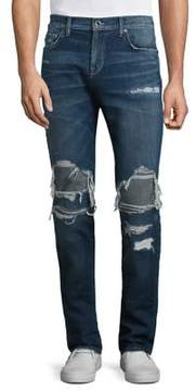 Joe's Jeans Slim Fit Distressed Jeans