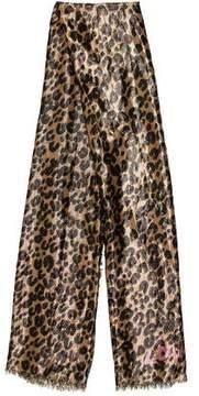 Louis Vuitton Lurex Leopard Stole