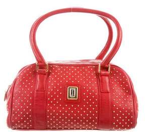 Judith Leiber Studded Leather Bag